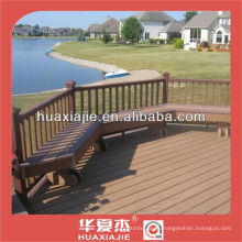 outdoor wpc flooring /pvc composite wood powder flooring