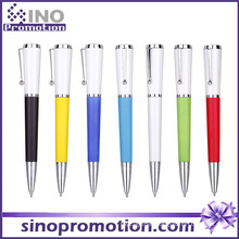 Cone Shape Cheap Plastic Ball Pen Clip Ballpoint Pen