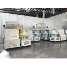 Highly Efficient Centrifugal Wood Pellet Machine
