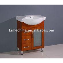 2013 hot selling solid wood bathroom vanity