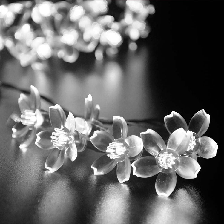 cherry flower waterproof christmas festival light