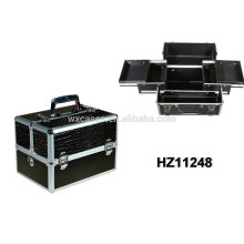 new design hot sale aluminum makeup case high quality