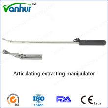 Laparoscopic Instruments Articulating Extracting Manipulator