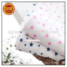Tecido de tricô de jersey simples de várias cores para roupas