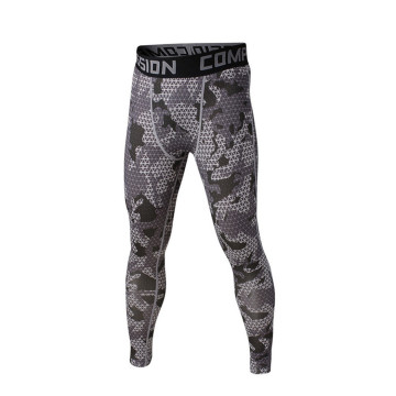 USINE d'OEM Mens Sports Leggings pantalon de compression personnalisés