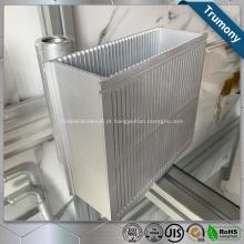 Perfil da moldura da porta da janela de extrusão de alumínio revestido com padrão