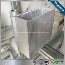 Pattern Coated Aluminium Extrusion Window Door Frame Profile
