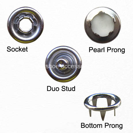 Various Colors Ring Snap Button for Babies Wear