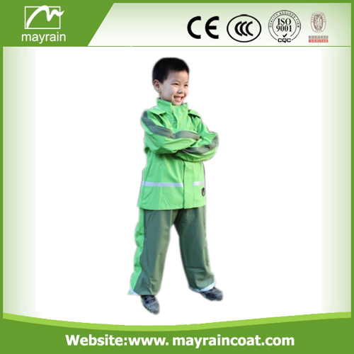PU Coated Children Rainsuits