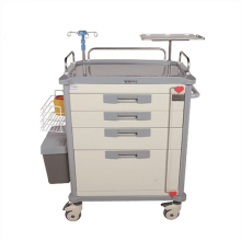 Made in China 2021 new style ABS Emergency Drugs Trolley hospital Medical Trolley