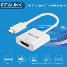 USB3.1 para cabo de conversão HDMI