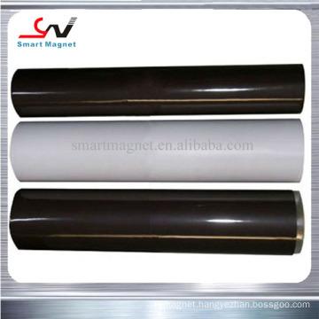 Cheap high quality adhesive PVC plain flexible rubber magnetic roll