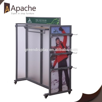 Multi-Funcutional Garment Display Stand/Garment Display Rack/Garment Display Shelf