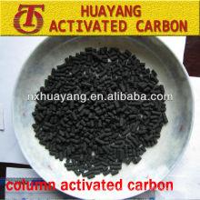 valor de iodo 1000mg / g coluna de carbono ativado / carvão ativado a base de carvão