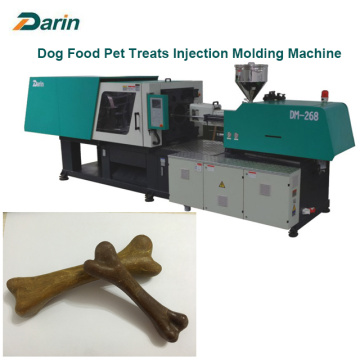 Machine de moulage de collations de viande de chien d'injection