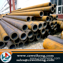 Triangular Black Seamless Steel Pipe