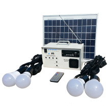 Solar Power System 10W and 220V Output