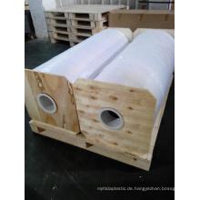 Weiße glänzende PVC-Rolle für das Verpacken