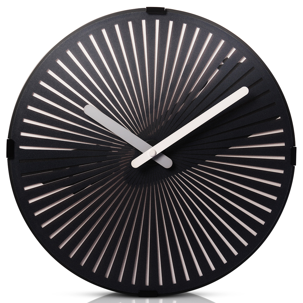Motion Wall Clock- Beating the Cymbal
