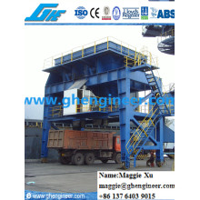 Coal Ore Clinker Slag Dust Proof Mobile Discharging Hopper