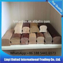 Decoración interior de balaustres de madera / pasamanos de alta calidad.