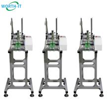 High Table Fast Card folder Plastic Bags Booklet Leaflet Friction Feeder Machines for inkjet printing
