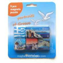 5 in1 magnet with epoxy coating, epoxy fridge magnet, souvenir magnet
