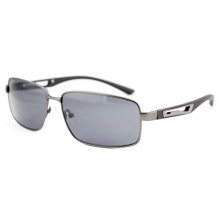 Fashion Men Metal High Quality Polarized Sport Sunglasses (14294)