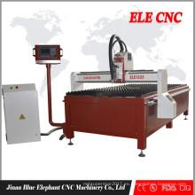 Cortador del plasma de las placas de chapa, cortadora del plasma del CNC, cortadora del acero inoxidable