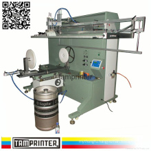TM-1500e Large Cylinder Keg Screen Printer for Barrel