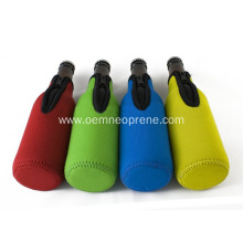 12oz solid color single beer bottle cooler holder