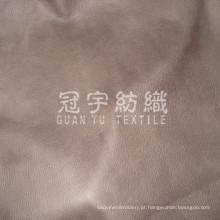 Tecido de estilo composto de couro gravado Europa