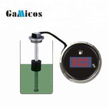 Sensor de nivel de combustible de barco cisterna analógico con indicador