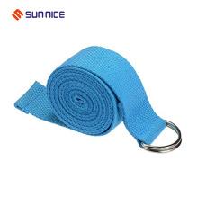 Cinturón de algodón para yoga con anillo D superventas