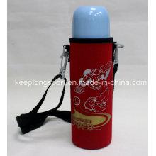 Nouveau porte-bouteille en néoprène personnalisé avec ceinture d'épaule