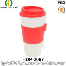 16oz BPA Free Insulated Plastic Coffee Mug (HDP-2097)