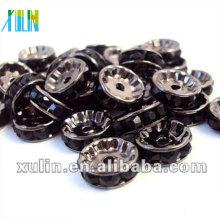 BB083 Loose Rhinestone Crystal Rondelle Spacer Beads