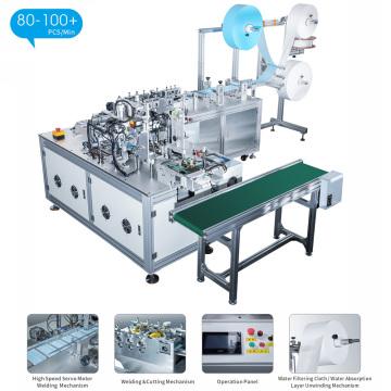 Vollautomatische Einweg-Maschine zur Herstellung von Vlies-Gesichtsmasken