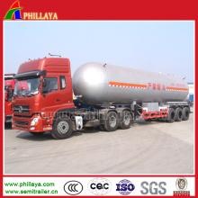 Semi reboque do LPG 50m3 para o transporte de gás do LPG