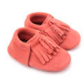 Warna Campuran Borong Fancy Soft Leather Baby Shoes