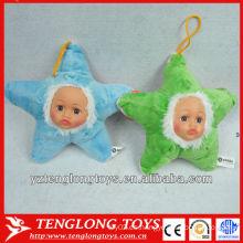 Juguetes de llavero de peluche en forma de estrella Regalos para niños