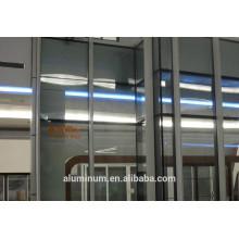 Perfil de aluminio para muro cortina