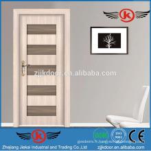 JK-SW9301-1 nouveau design robuste portes intérieures italiennes en bois arrondi
