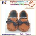 Zapatos de cuero suave para bebé