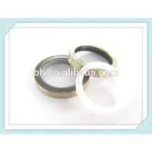 Metal Cortina Rod anilha anel anel, anel de bronze lavadora
