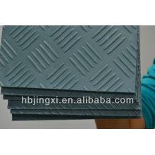 colored checker rubber sheet