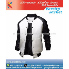 man winter custom varsity jacket/ bomber jacket wholesale down jacket