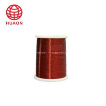 Fil de cuivre émaillé de polyesterimide isolé EIW / 180