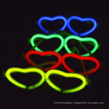 glow heart shaped glasses