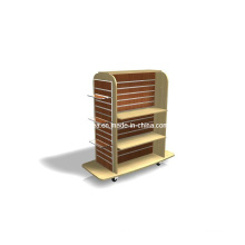 Wooded and MDF Double Side Display Stands